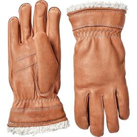 Hestra Deerskin Primaloft Rękawiczki Kobiety brązowy